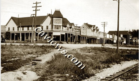 Walnut Street Sisson Northern Calif history photo collection 1514