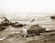 First Cliff House, history photo collection