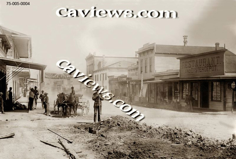 Alvarado Street, Old Monterey photo,#96-050-0007  Copyright©2018 California Views