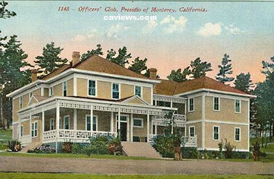 officers club presidio of monterey